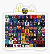 Basketball Legends Sticker