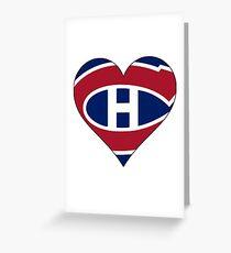 Canadiens Greeting Card