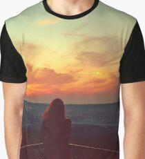 Vintage sunset Graphic T-Shirt