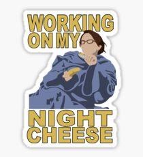Liz Lemon - Night cheese Sticker