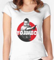 Yojimbo - Toshiro Mifune Women's Fitted Scoop T-Shirt