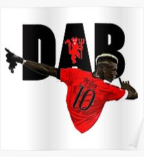 paul pogba dab celebration Poster