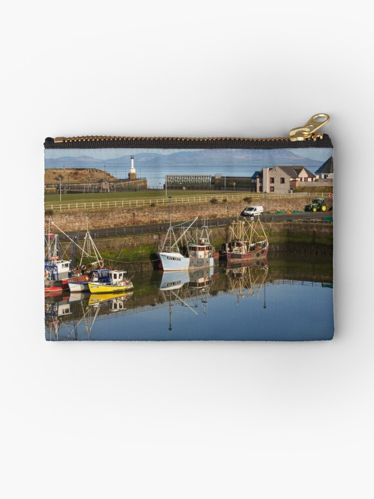 Maryport Harbour Morning from Ritson Wharf by Jan Fialkowski