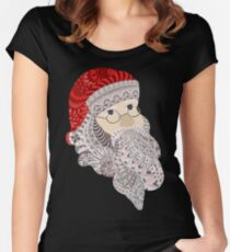 Santa Claus Women's Fitted Scoop T-Shirt