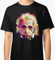 Albert Einstein Genius Space Cosmos Galaxy Universe Classic T-Shirt