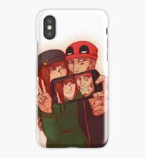 Wilson&Summers fake comic book cover (non-lettered) iPhone Case/Skin