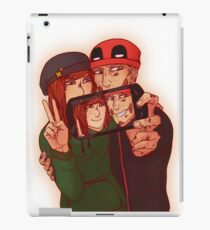 Wilson&Summers fake comic book cover (non-lettered) iPad Case/Skin