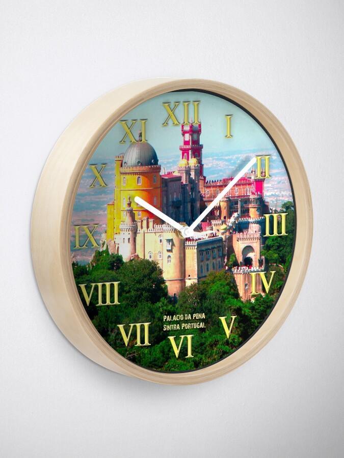 009 Wall Clock Palace Of Pena Sintra Portugal Clock