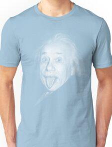 Albert Einstein Genius Tongue Funny Unisex T-Shirt