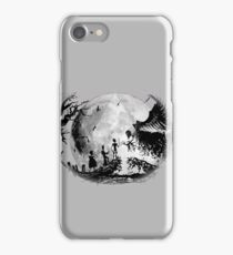 Think Deathly Hallows Moon iPhone Case/Skin