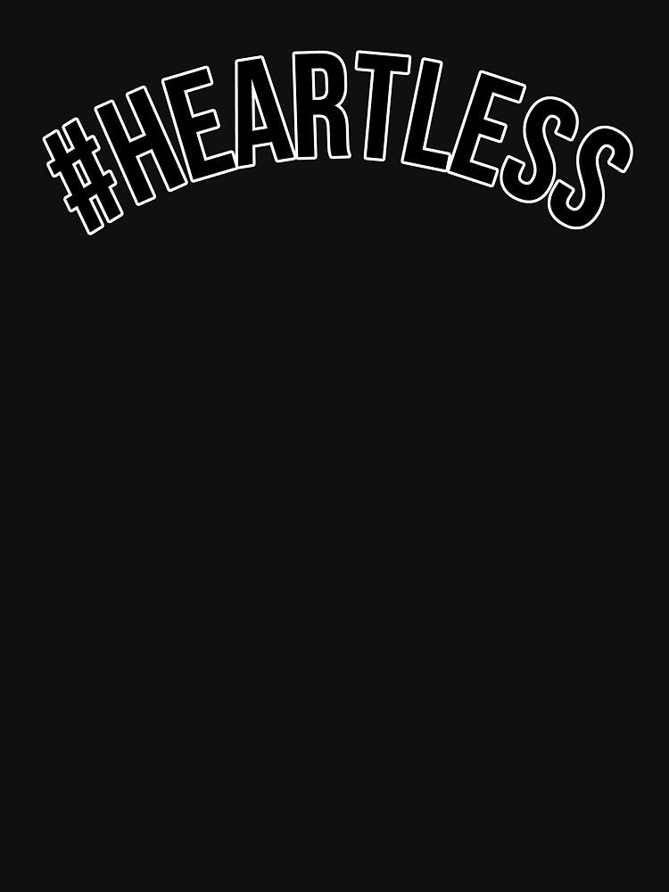 """""""Heartless Tumblr Blvck Aesthetic Dope Design"""" Unisex T ..."""