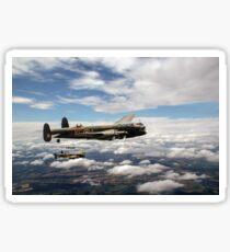 617 Squadron Tallboy Lancasters Sticker