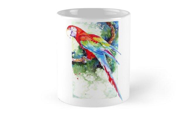 Wild Macaw by Penny Taylor- Beardow