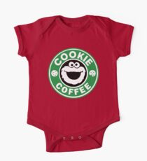 Cookie Coffee One Piece - Short Sleeve