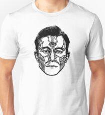 """""""Joseph Gordon-Levitt"""" Woodcut (Hollywooden) T-Shirt"""