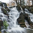 Virginia Water cascades by Stephen Liptrot