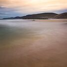 Sandwood Bay Dreamy Waters by derekbeattie