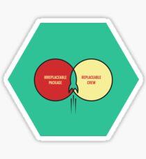 Replaceable Crew #SFSF Sticker