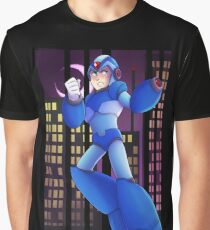 Megaman X - With One Powershot Graphic T-Shirt
