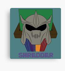 SHREDDER.  Canvas Print