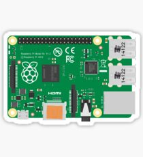 Raspberry Pi 3 Board Sticker