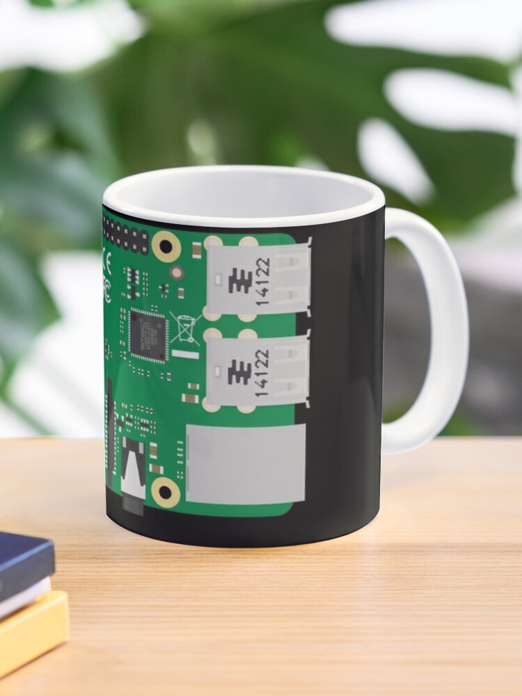 Raspberry Pi Mug Coaster