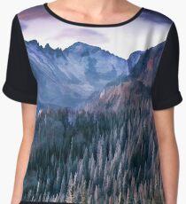 Rocky Mountains Chiffon Top