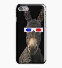 Funny donkey iPhone Case/Skin