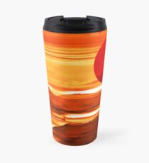 Sunset Harbor - Landscape Digital Painting Travel Mug