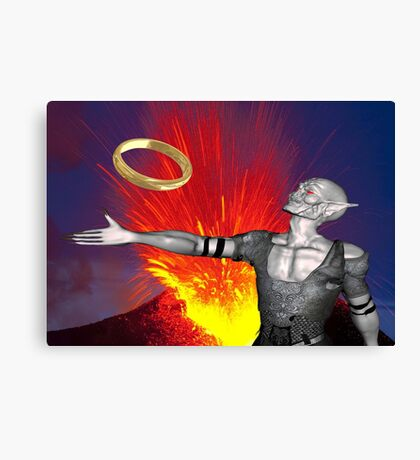 Ring of Destruction Canvas Print