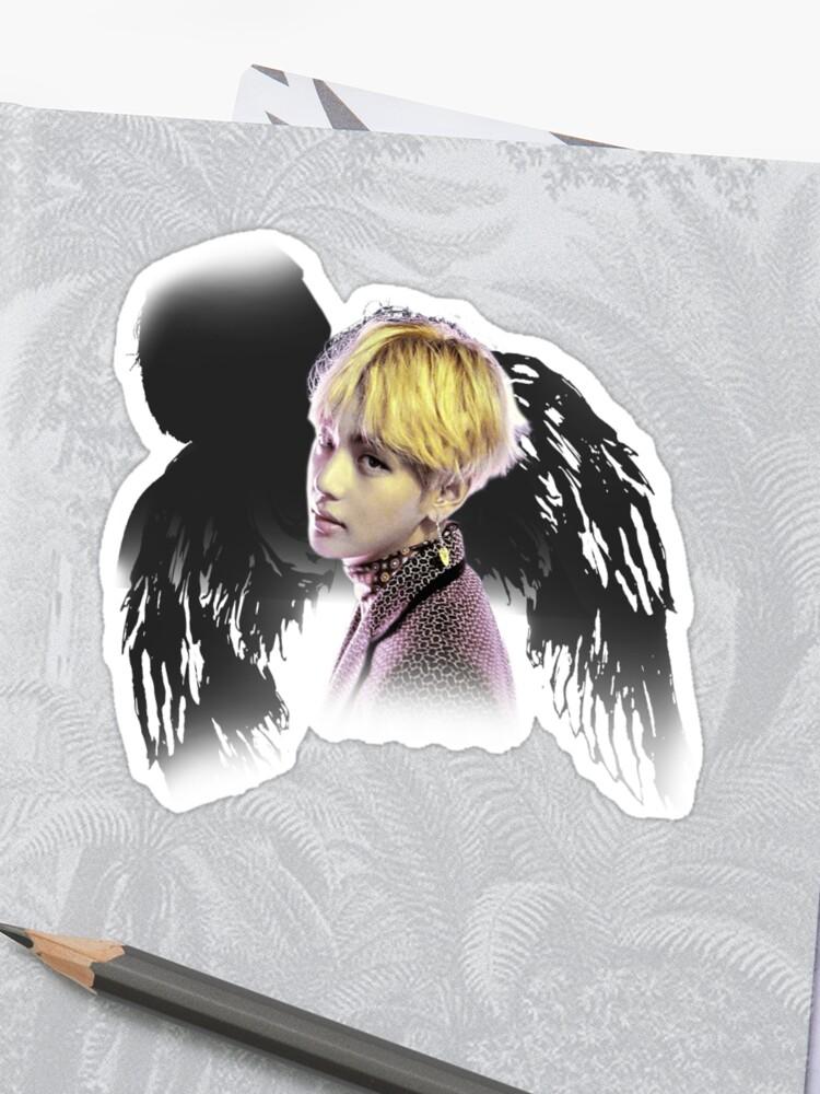 Custom V Blood Sweat And Tears Bts Sticker By Interrain