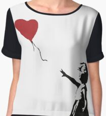 Banksy Heart - ONE:Print Chiffon Top