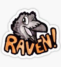 Raven! Sticker Sticker