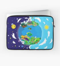Paper Mario World Mashup Poster Laptop Sleeve