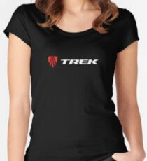 Trek Bicycle Women's Fitted Scoop T-Shirt