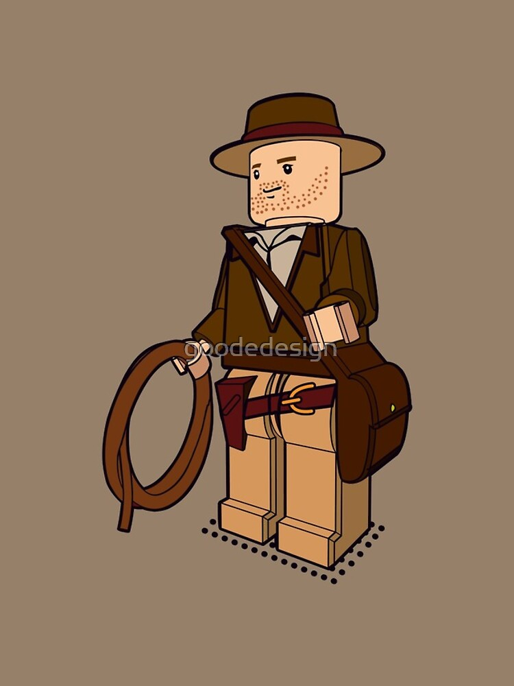Lego Indiana Jones Harrison Ford Adventure Treasure by goodedesign