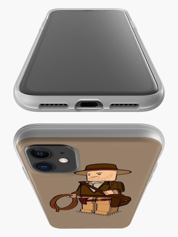 Alternate view of Lego Indiana Jones Harrison Ford Adventure Treasure iPhone Case & Cover