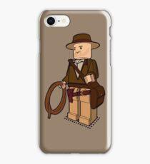 Lego Indiana Jones Harrison Ford Adventure Treasure iPhone Case/Skin