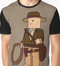 Lego Indiana Jones Harrison Ford Adventure Treasure Graphic T-Shirt