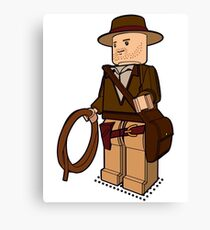 Lego Indiana Jones Harrison Ford Adventure Treasure Canvas Print