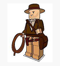 Lego Indiana Jones Harrison Ford Adventure Treasure Photographic Print