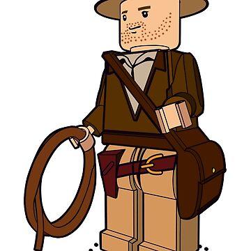 Lego Indiana Jones Harrison Ford Adventure Treasure by goodedesign