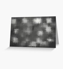 black and white painting texture abstract background Greeting Card