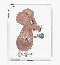 Mouse Don't Care iPad Case/Skin