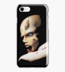 Resident evil original OG iconic zombie! the one started it all! 100% Redrawn In Adobe Ilustrator Vector Format. iPhone Case/Skin