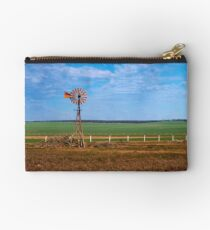 Windmill at Penong Studio Pouch