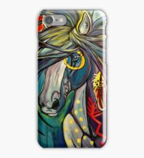 Native War Horse iPhone Case/Skin
