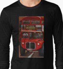 ROUTE MASTER BUS #73 Long Sleeve T-Shirt