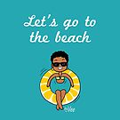 « Let's go to the beach - with Vee » par vee-madinina