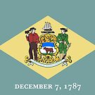 Delaware State Flag Products by Mark Podger